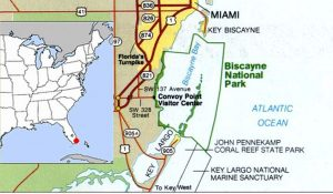 biscayne-national-park-map